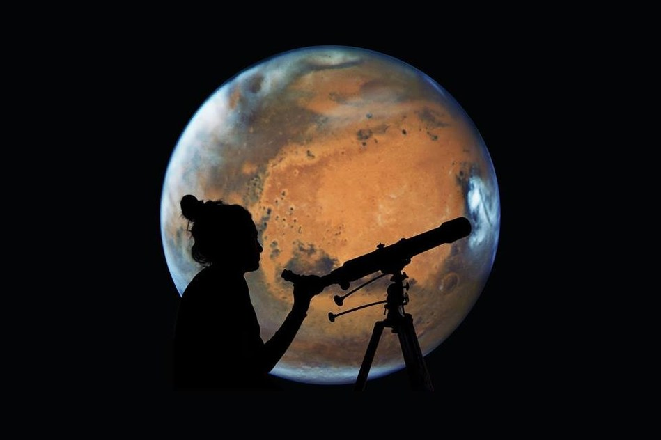 Calling astronomers of all ages! Ontario Science Centre hosts MarsFest on July 27, 2018 from 8 p.m. to 1 p.m. to celebrate Mars at opposition. This family-friendly event is free. (CNW Group/Ontario Science Centre)