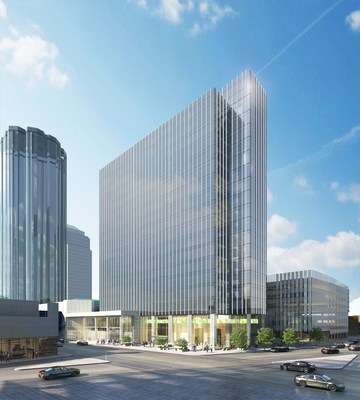 Architect's Rendering of HSBC Bank Place. Photo provided by AIMCo. (CNW Group/Alberta Investment Management Corporation)