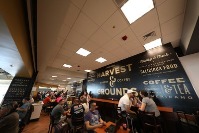 Harvest & Grounds is one of the newest restaurants at ONT.