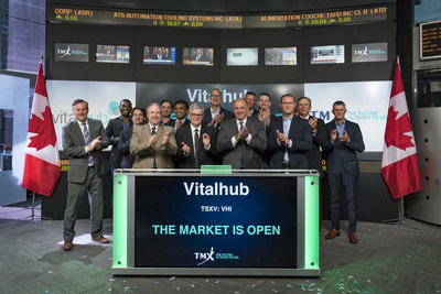 Vitalhub Corp. Opens the Market (CNW Group/TMX Group Limited)
