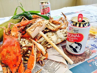 For every red, crab-etched can tab collected through October 1, Natty Boh will donate 10 cents to the Chesapeake Bay Foundation's local blue crab habitat restoration efforts.