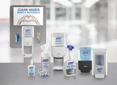 PURELL HEALTHY SOAP(TM) High-Performance Foam with CLEAN RELEASE(TM) Technology and PURELL(r) ES8 dispensing systems are part of the PURELL SOLUTION(tm) - a complete suite of hand hygiene, surface disinfecting and advanced dispensing solutions developed to help reduce the spread of infection in a facility.  For more information on the PURELL SOLUTION(tm) go to www.PURELLSOLUTION.ca