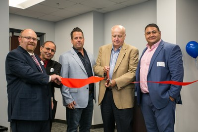 Pictured from left: Executive Director Charlie Wolfe, Clinical Director Dr. Monir Morgan and Investors Joe Byrne, Jim O'Connor and Mark Morgan