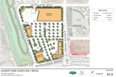 120-Acre, $3-Billion Market Park San Jose Welcomes Safeway as Retail Center Anchor