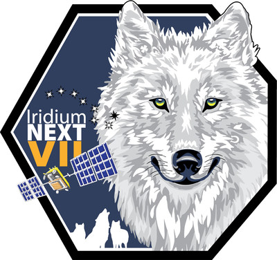 The official Iridium-7 Launch Patch from Iridium Communications Inc.