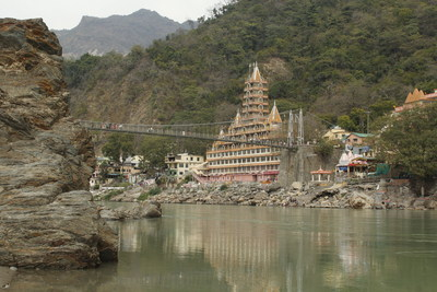Rishikesh, India is the world capital for Yoga. (CNW Group/Breathedreamgo)