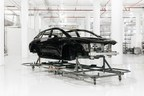 First Complete FF 91 Body-In-White (BiW) For Assembly Starts Build Path At Faraday Future Hanford Facility
