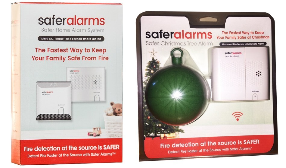 Safer Alarms Home & Christmas