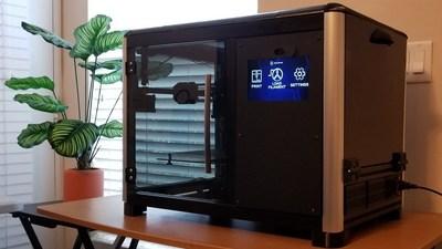 The Venturi 3D Printer on display