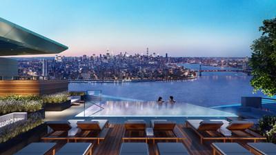 位於布魯克林市中心的布魯克林點大廈提供一居室到三居室公寓
