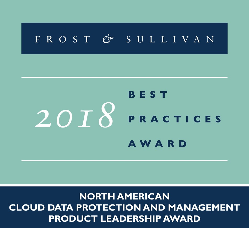Frost & Sullivan recognizes Druva with the 2018 North American Product Leadership Award for its agile, high-performance, and cloud native data management-as-a-service (DMaaS) platform.