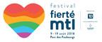 Logo : Festival Fierté Montréal (Groupe CNW/Festival Fierté Montréal)