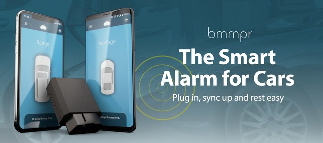 """A new company, Bmmpr, pronounced """"bumper,"""" (https://www.bmmpr.com), is making major waves by bringing car security into the modern age with a launch of a security solution that provides consumers a bevy of metadata and real-time protection, conveniently accessed from their smartphones.Provided through a novel innovation of physical hardware and digital software, the company's unique sensor requires no expert installation and can be set up completely within a user's vehicle in three minutes."""