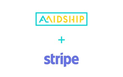 Amidship partners with Stripe (CNW Group/Amidship)