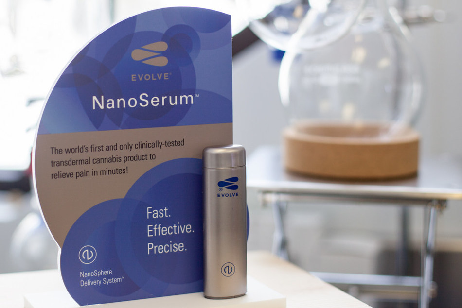 Delta 9 has signed an agreement with Nanosphere Health Sciences, ceding the Master License for all of Canada for distribution of Nanosphere's Evolve cannabis delivery system. (CNW Group/Delta 9 Cannabis Inc.)
