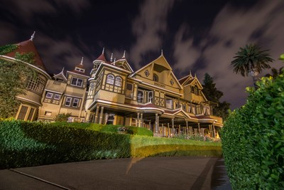 As autumn winds swirl, it's time to join us at the Winchester Mystery House, one of America's most legendary haunted mansions, as we present our annual Hallowe'en Candlelight Tours