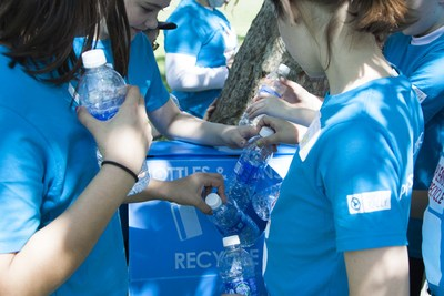 More than half of the material that could be recycled from U.S. households is lost. To help improve recycling rates and close the loop, PepsiCo and the PepsiCo Foundation have invested approximately $55 million in recycling efforts in the U.S. in the last 9 years.