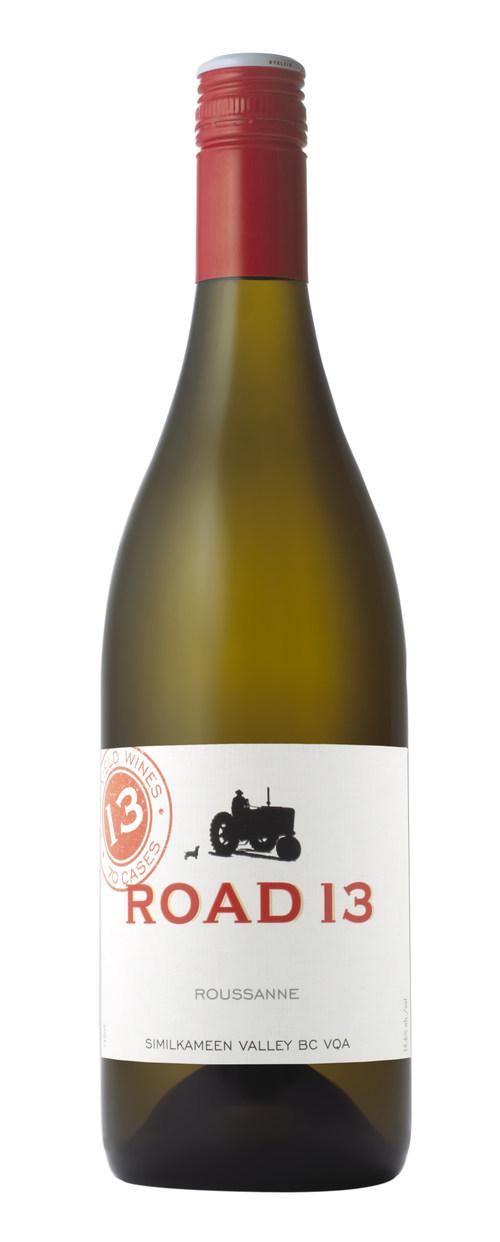 Platinum award-winning 2016 Roussanne from Road 13 Vineyards (CNW Group/Road 13 Vineyards)