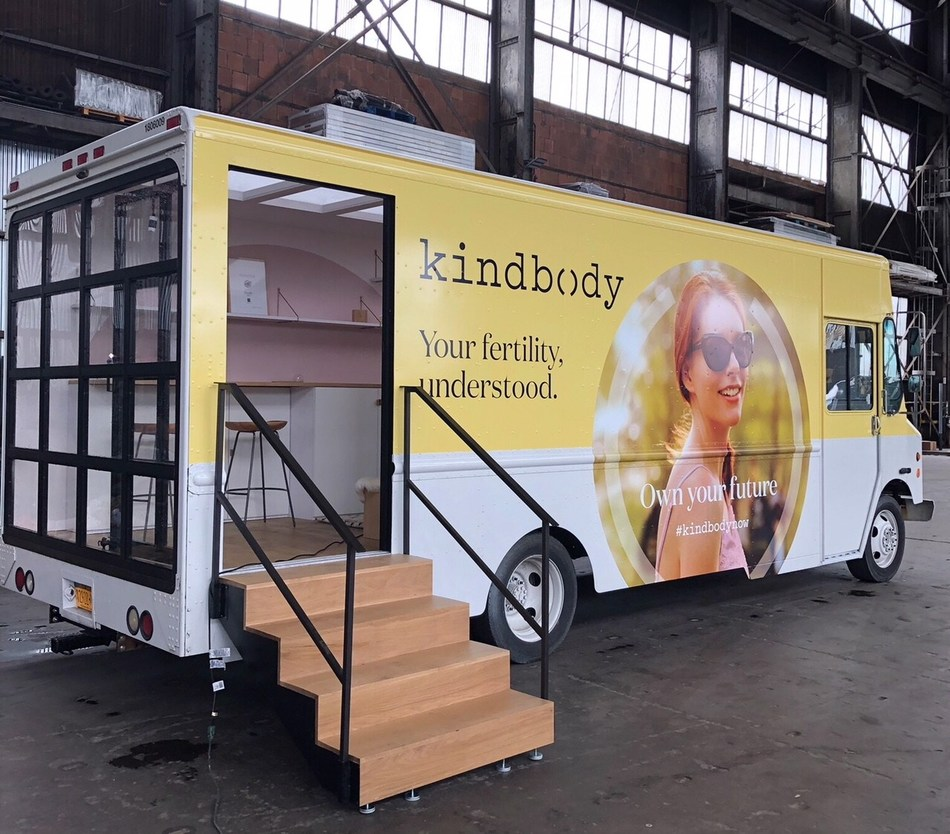 Kindbody's Mobile Fertility Pop-Up