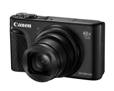 Canon PowerShot SX740 HS in black