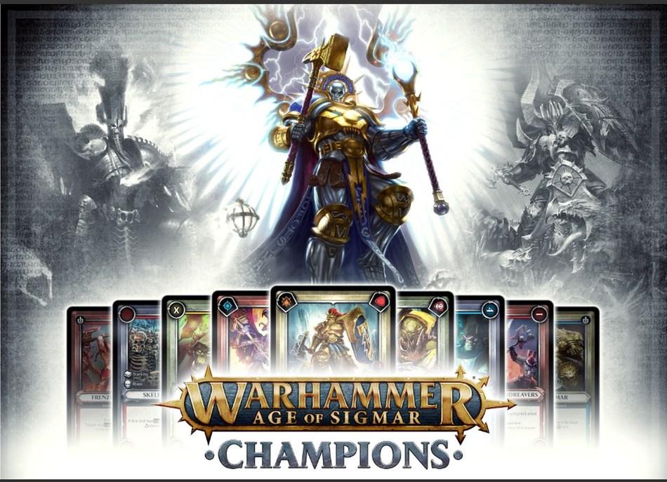 Warhammer Age of Sigmar: Champions physical and digital trading card game launching at GenCon (PRNewsfoto/PlayFusion)