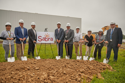Sabra Executives and Local Officials Break Ground on a New Expansion