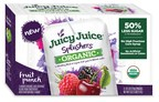 Harvest Hill Beverage Company Introduces Lower-Sugar Juicy Juice® Splashers Organic For A Better Back To School