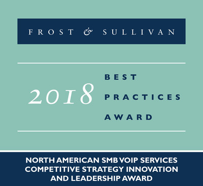 Frost & Sullivan recognizes Comcast Business with the 2018 North American Competitive Strategy Innovation and Leadership Award.