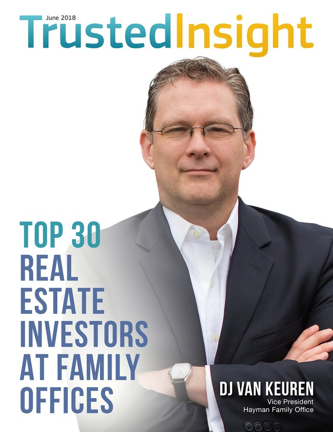 Cover for Trusted Insights (PRNewsfoto/Family Office Real Estate Magaz)