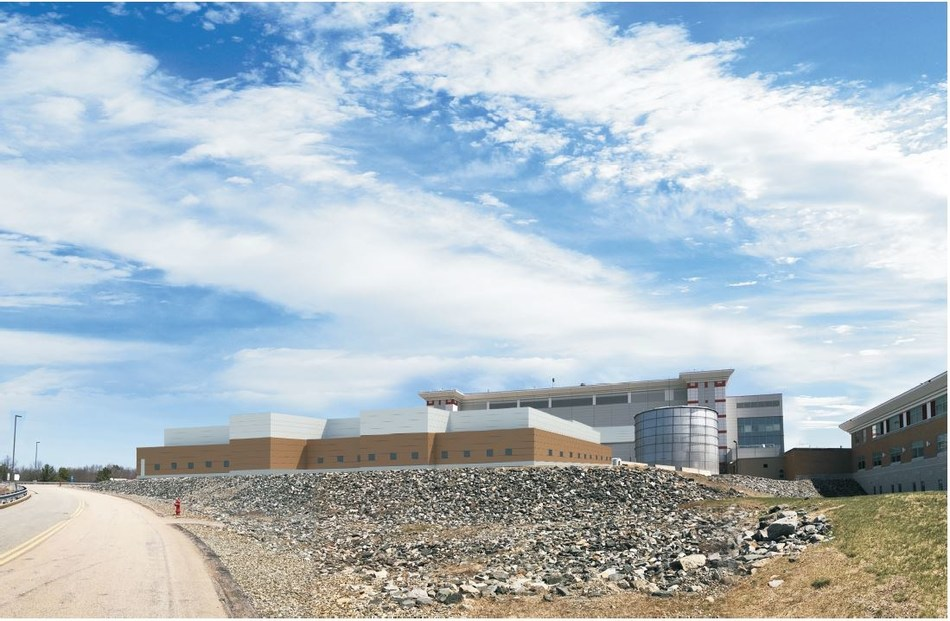 Rendering of new next-generation biomanufacturing plant