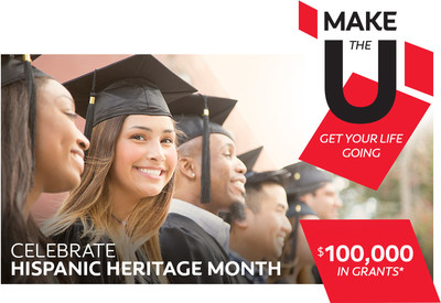 Colgate-Palmolive in partnership with the Hispanic Heritage Foundation, encourages high school students to get on the path to higher education.