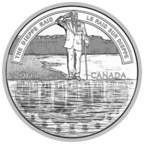 La pièce de 20 $ en argent fin 2018 – La vaillance d'une nation : Le raid sur Dieppe (Groupe CNW/Monnaie royale canadienne)