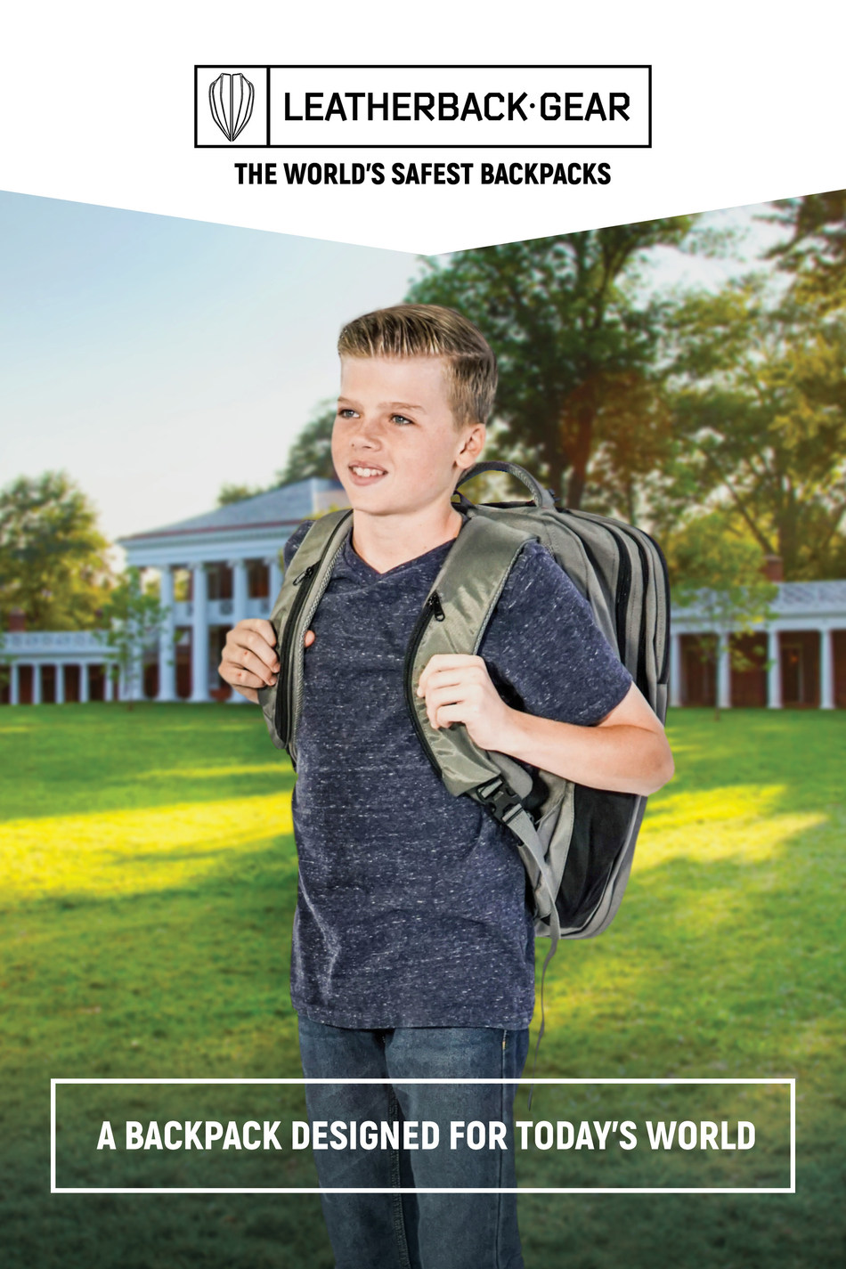 Leatherback Gear, creators of the World's Safest Backpack release the Top 5 Back to School Safety Tips.