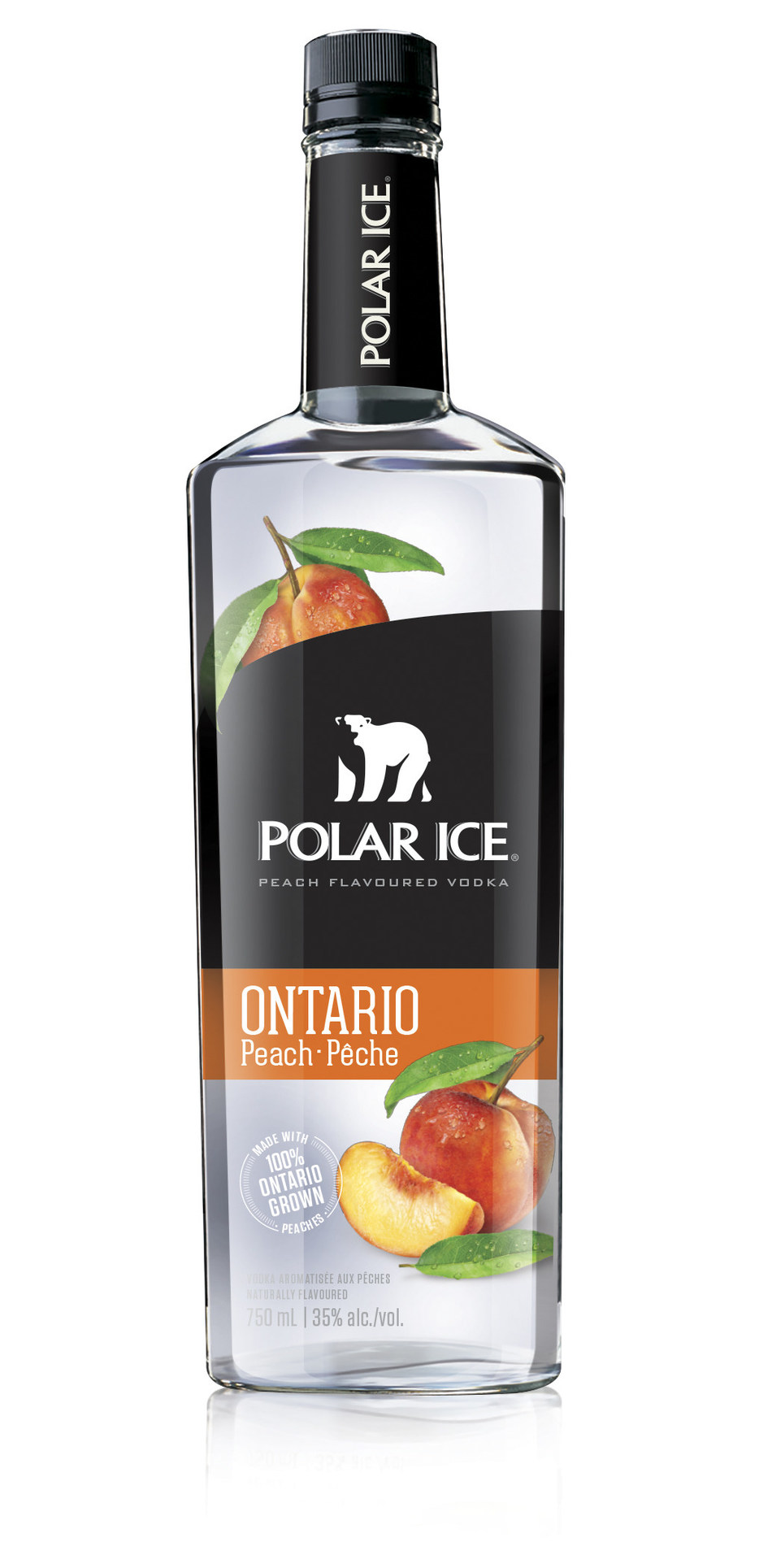 Polar Ice vodka introduces limited edition Ontario Peach flavoured vodka (CNW Group/Corby Spirit and Wine Communications)
