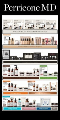New Perricone MD Retail Linear with Revised Franchises