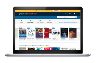 A Cengage Unlimited subscription offers access to thousands of digital products across 70 subjects and 675 courses—for one price, no matter how many Cengage materials they use.