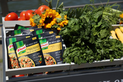 Knorr® Farm Fresh One Skillet Meals for National Farmers Market Week