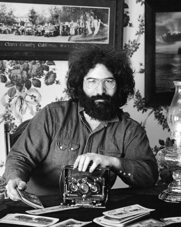 Jerry Garcia by Herb Greene. Copyright Herb Greene used by permission