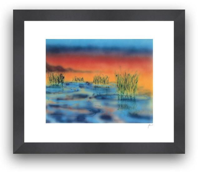 """Wetlands 1"" by Jerry Garcia"