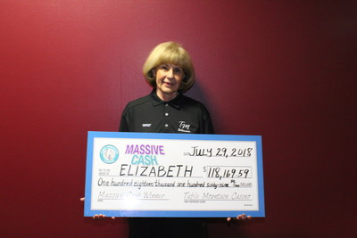 Lucky Betty from Fresno, the most recent Table Mountain Casino Massive Cash Jackpot Winner.