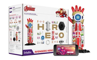 littleBits' Avengers Hero Inventor Kit