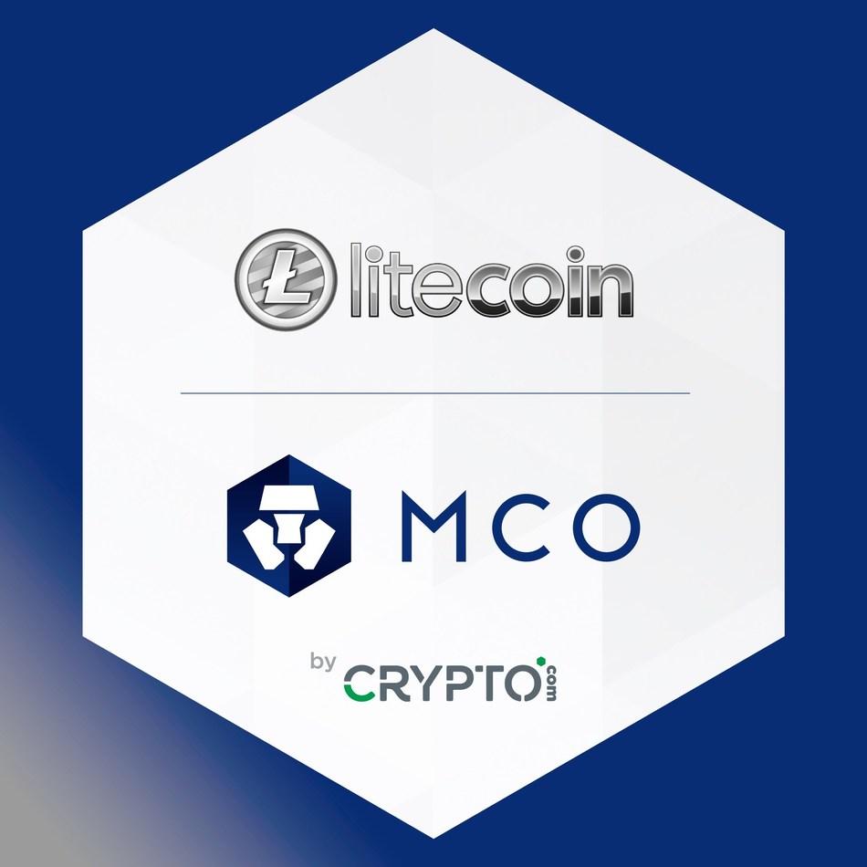 CRYPTO.com Welcomes Litecoin to the MCO Cryptocurrency Platform (PRNewsfoto/CRYPTO.com)