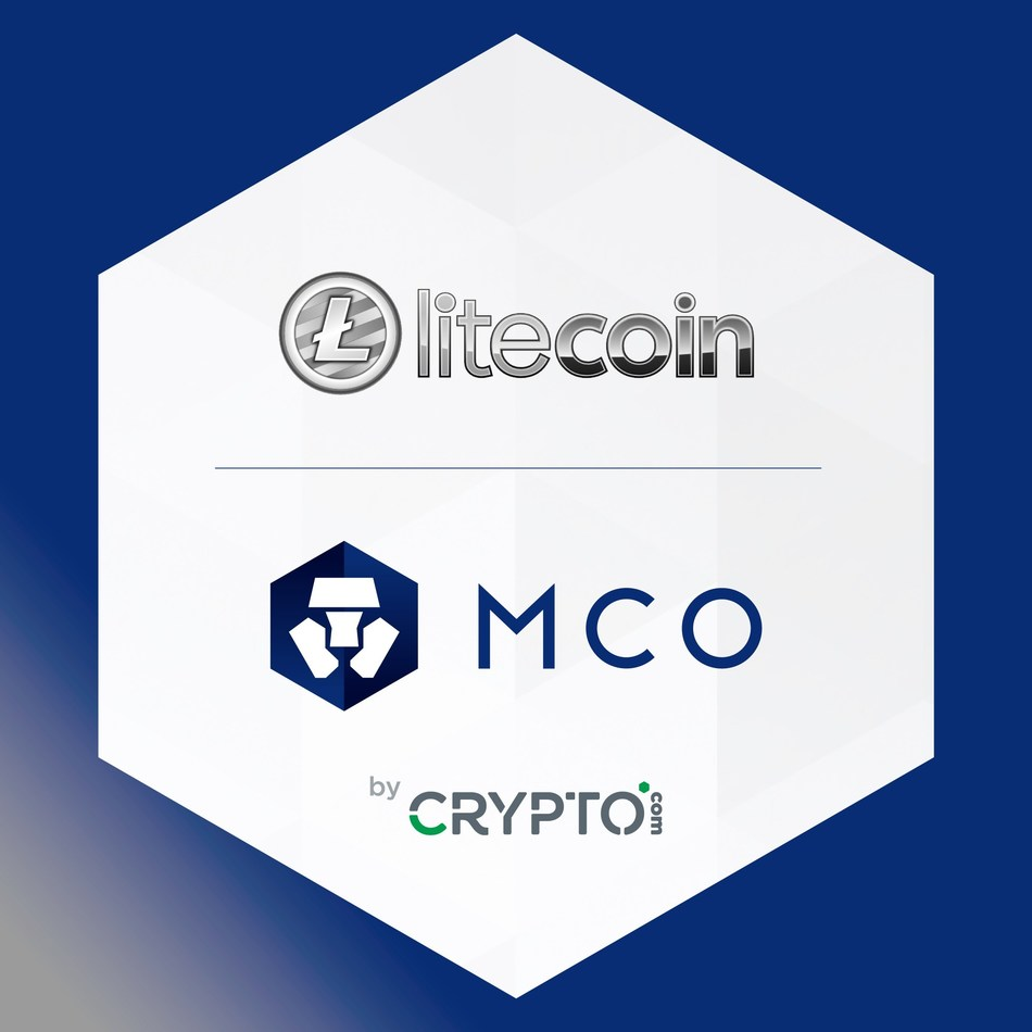 CRYPTO.com Welcomes Litecoin to the MCO Cryptocurrency Platform (PRNewsfoto/CRYPTO.com)