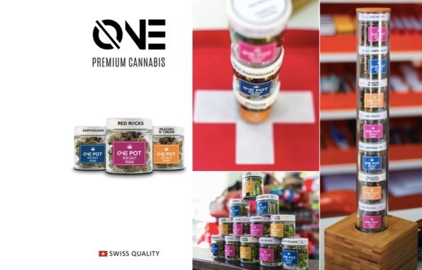Figure 6: The current ONE Premium Cannabis Range. (CNW Group/LGC Capital Ltd)