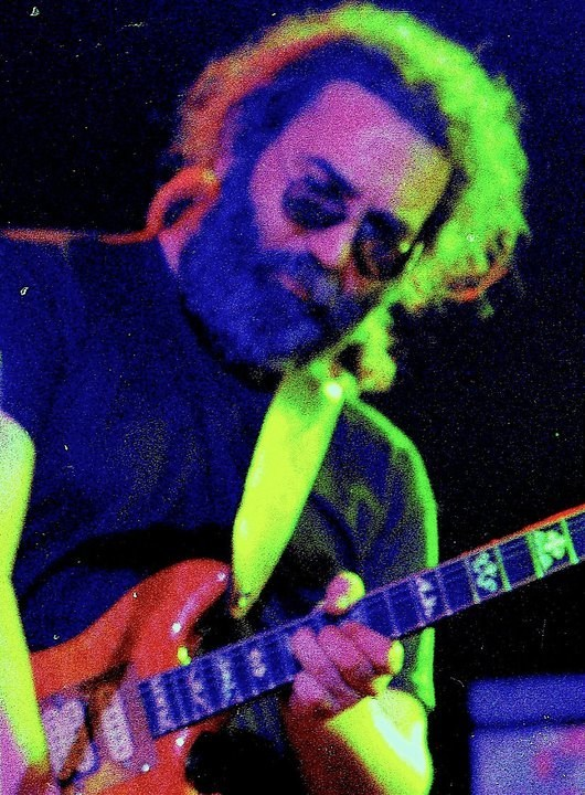 Jerry Garcia 1978 Photographer: Elliot Newhouse