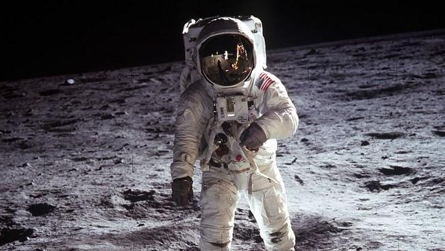 Buzz Aldrin on the Moon (Apollo 11)