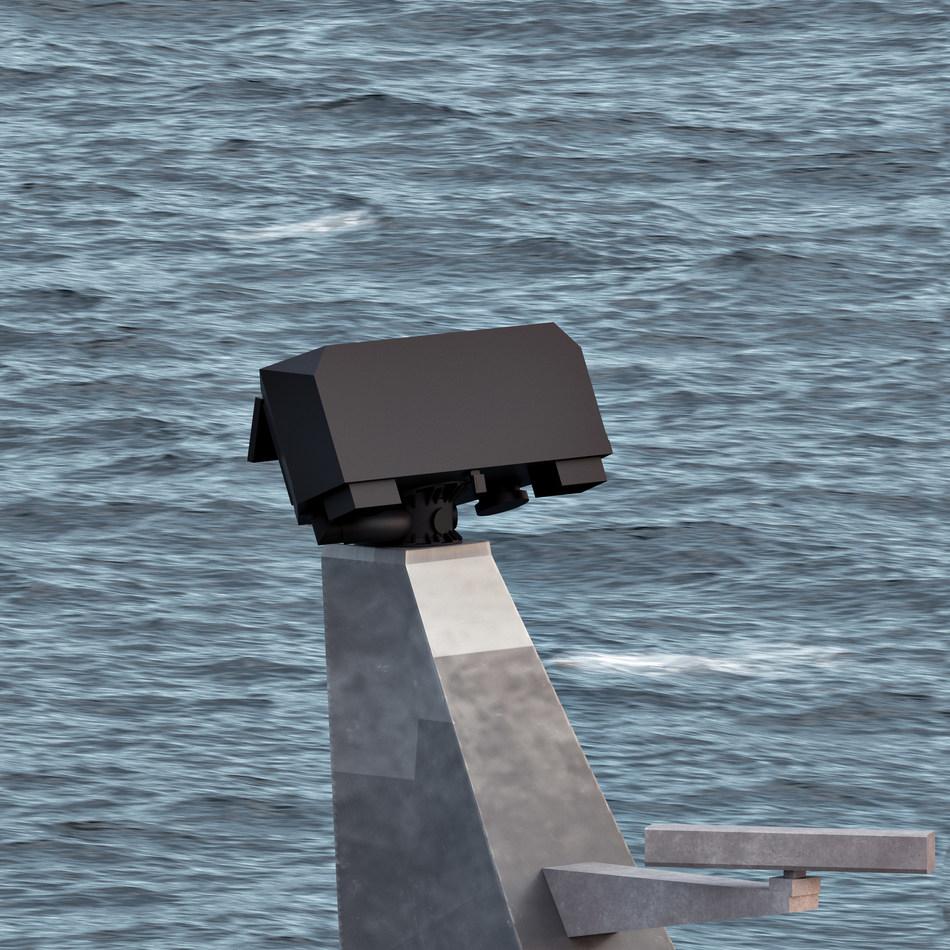 Sea Giraffe Radar Mast