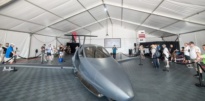 The Samson Sky Switchblade Flying Sports Car was presented in final form at the world's greatest airshow, EAA's AirVenture 2018