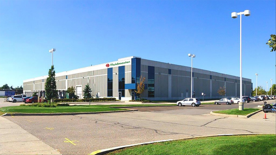 Fluidmaster, Inc., the world's largest manufacturer of toilet tank components and trim, today announced the opening of its new Canadian Distribution Center in Mississauga, Ontario.