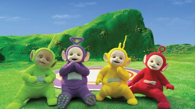 With new consumer products coming in South Korea, and a raft of new broadcast and streaming platforms on board, kids and adults alike will be able to celebrate and share their love of the Teletubbies across cultures and languages worldwide. (CNW Group/DHX Media Ltd.)